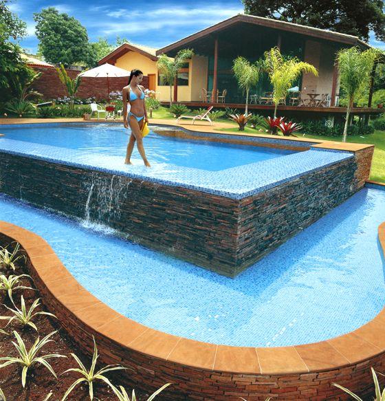Revestimentos para piscinas mais uma engenharia for Material piscina barato